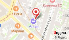 Дизайн-Отель Аглая Кортъярд на карте