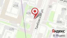 Апарт-отель ROTAS на Тамбовской на карте