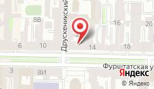 Апарт-отель TakeRoom Чернышевская на карте