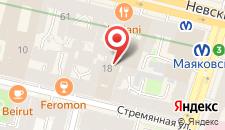 Бизнес-отель Жемчужина на карте