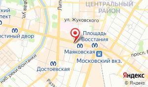 Адрес Единый центр страхования № 1 в Санкт-Петербурге