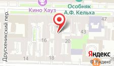 Отель Чайковский на Неве на карте
