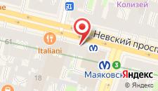 Отель Невский Форум на карте