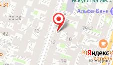 Хостел Moon Hostel на карте