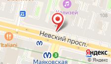 Отель Лопатин Невский 100 на карте