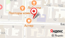 Мини-отель Басков на карте