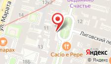 Мини-гостиница Пассажир на карте