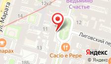 Хостел Геральда на карте