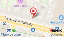 Хостел Друзья на Невском на карте