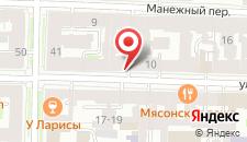 Гостиница Синема на карте