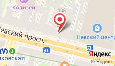 Гостиница Франт на карте
