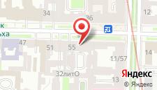 Отель Гранд Отель Чайковский на карте
