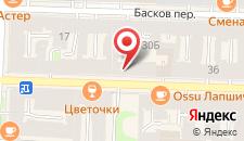 Отель Samsonov on Nekrasova на карте