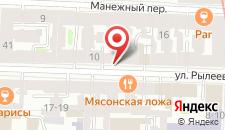 Хостел Синема на карте