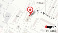 Гостиница Северянка на карте