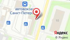 Гостиница Киевская на карте