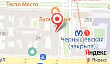 Хостел Петя и Волк на Чернышевского на карте