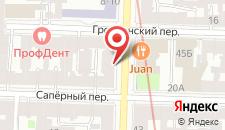 Апарт-отель Sokroma Genius на карте