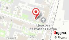 Хостел Путник на карте
