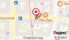 Хостел Некрасов на карте
