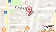 Мини-отель Аура на карте