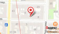 Хостел Petersky на карте