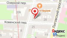 Мини-гостиница Ковенский на карте