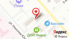 Отель Пуща Конгресс на карте