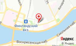 Расположение Петербургская сбытовая компания на карте