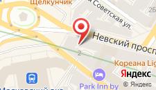 Хостел Capsule Hotel BARCH на карте