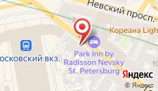 Мини-отель Алые паруса на Гончарной на карте