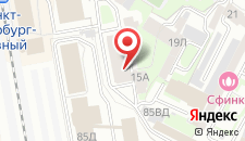Отель SuperHostel на Гончарной на карте