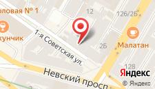Гостиница Русская сказка на карте