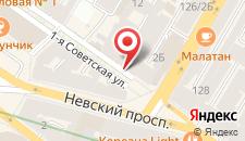 Хостел Old Flat Hostel на Советской на карте