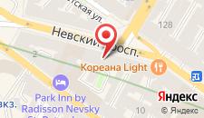 Гостиница Невский Экспресс на карте