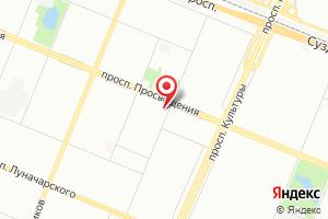 Адрес Электрико на карте