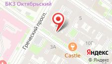Гостевой дом Комнаты на 4-ой Советской на карте