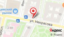 Гостевой дом Рада на карте