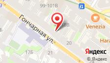 Апартаменты Sokroma Sofit Aparts на карте