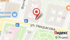 Гостиница Викена на карте