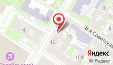 Гостиница Rinaldi на Греческом на карте