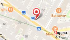 Гостиница Акварели на Невском 136 на карте