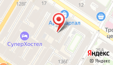 Отель Петрополь на карте