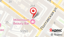 Мини-отель Номера на Гончарной на карте