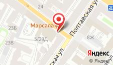 Мини-гостиница SuperHostel на Полтавской 5/29 на карте