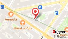 Отель Blue Sky на Невском на карте