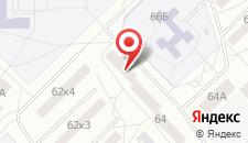 Апартаменты Дмитрова 64 на карте