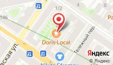 Апарт-отель Невский 150 на карте