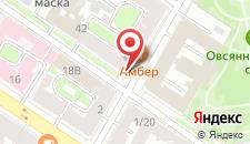 Отель Аллюрия на Мытнинской на карте