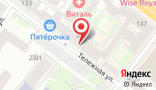 Апарт-отель Резиденция на Невском на карте